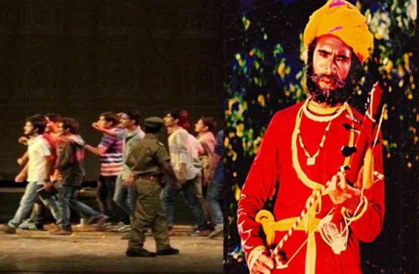 राजस्थान के रंगमंच के उम्दा कलाकार थे रुपाजी, तो इसलिए नौकरी छोड़ सैनिकों के बीच करने लगे मंचन