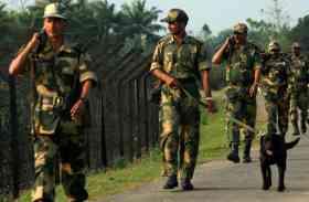 भारत-बांग्लादेश सीमा पर सुरक्षा बलों ने बढ़ाई चौकसी