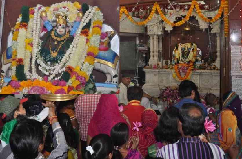Mahalaxmi Mandir Holkar Dynasty Indore - मंदिर में लगी ...