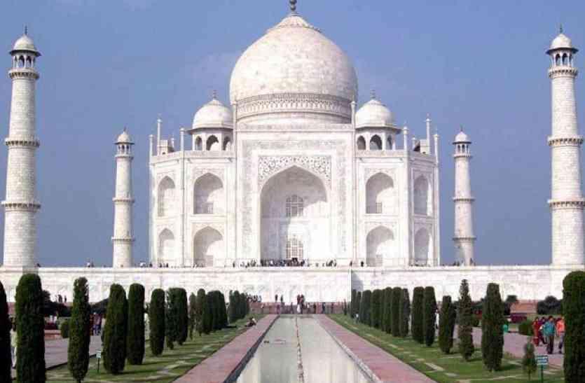 Inside Story Of Taj Mahal - जब 1971 में 15 दिनों के लिए हरे कपड़े से ढका  गया था ताजमहल | Patrika News