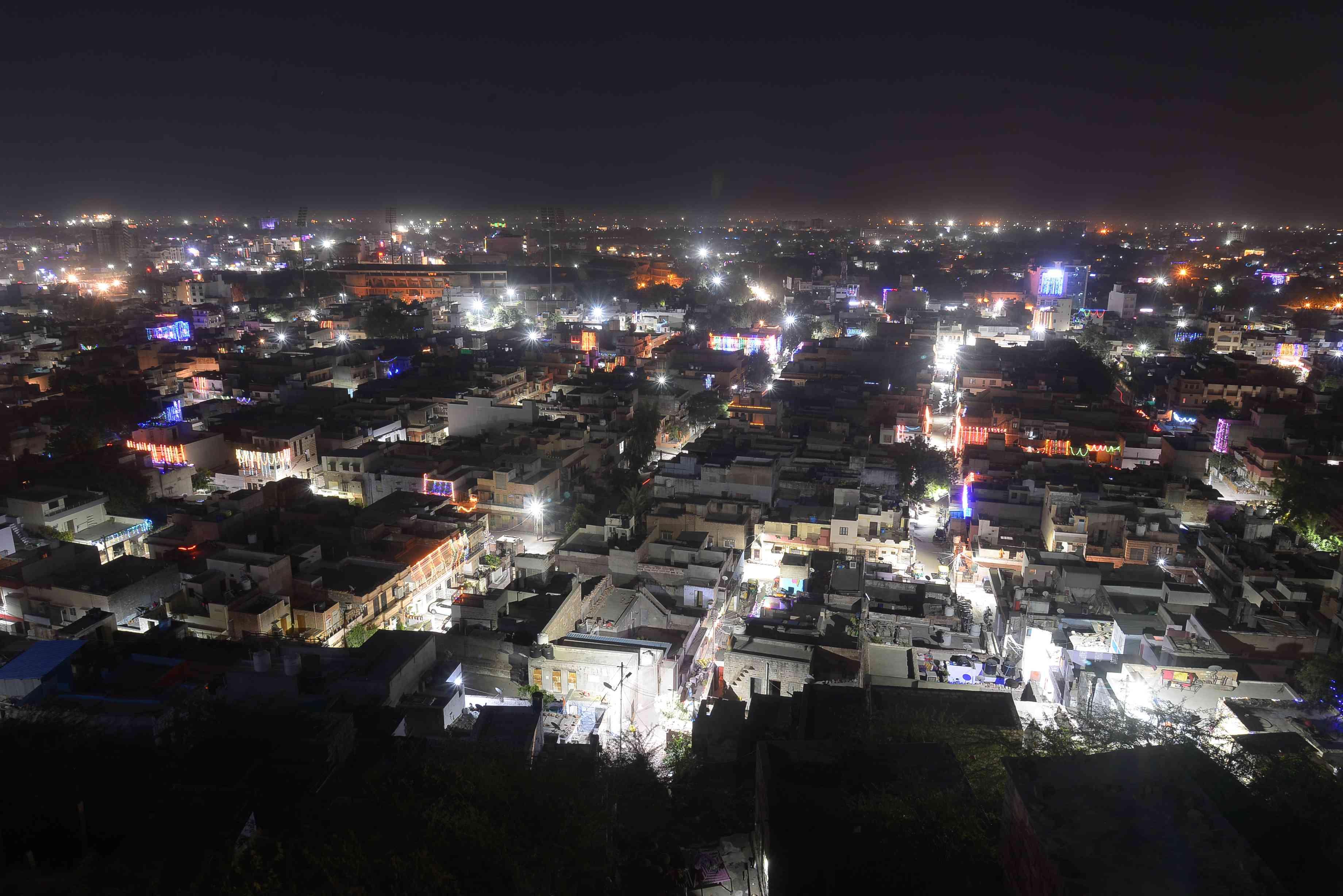lighting on dhanteras in Jodhpur