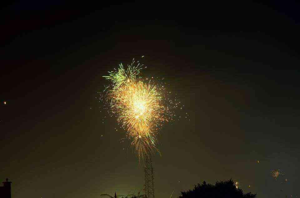 fireworks on dhanteras in jodhpur