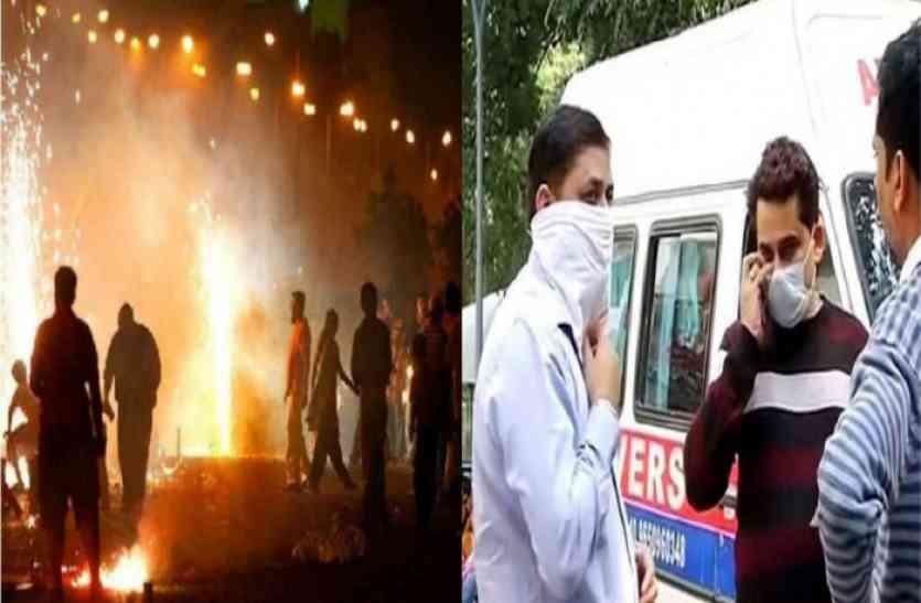 शुभ दीपावली: किसी भी अप्रिय घटना से निपटने के लिए तैयार है एसएमएस अस्पताल का इमरजेंसी वार्ड