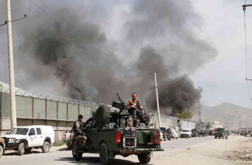 Image result for अफगानिस्तान में सेना के कैम्प पर आतंकी हमला, 43 सैनिकों की मौत