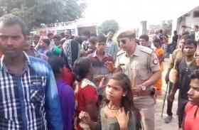 आजमगढ़ में मूर्ति विसर्जन को लेकर बवाल, पुलिस लाठीचार्ज में दर्जनों घायल