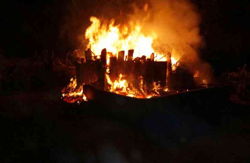 Jaisalmer- आग  ने मचाया कोहराम, हुआ वह जो देखना था मुश्किल