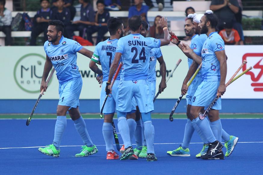 indian hockey नीदरलैंड में हुए गोल का हिंदुस्तांन में मना जश्न