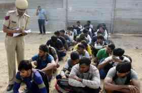 भरतपुर सेना रैली भर्ती: दौड़ में फेल, वापस घुसते धरे गए 74 अभ्यर्थी