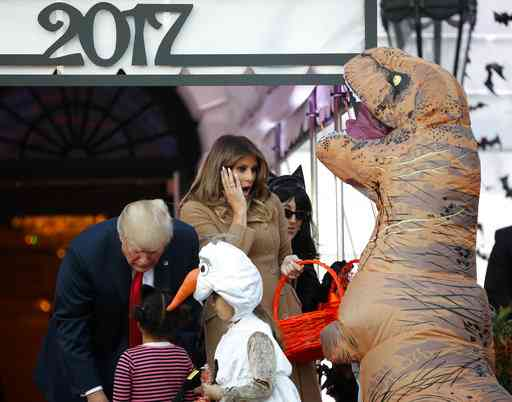 President Donald Trump,halloween party,