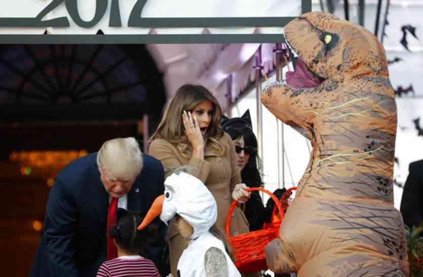 व्हाइट हाउस में भूतों ने की पार्टी, दिखा कुछ ऐसा नजारा !