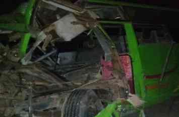 राजस्थान में भीषण सडक़ हादसा : 3  बारातियों ने तड़प-तड़प कर तोड़ा दम, 34 घायल, ऐसा मंजर देखने वालों की भी कांपी रुह