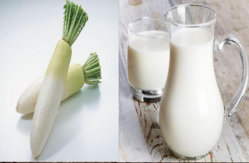मूली के साथ न करें दूध का सेवन, बन जाएगा विष