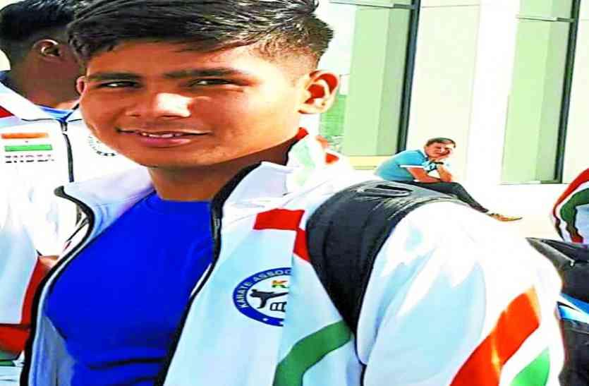 शिवपुरी से है प्रदेश का पहला जूडो जूनियर खिलाड़ी जिसे मिला है एकलव्य