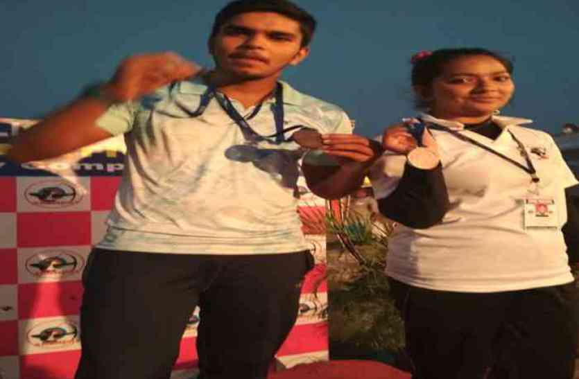 तीरंदाजी प्रतियोगिता में दिखा जयपुर के बच्चों का कमाल- जीते कई पदक