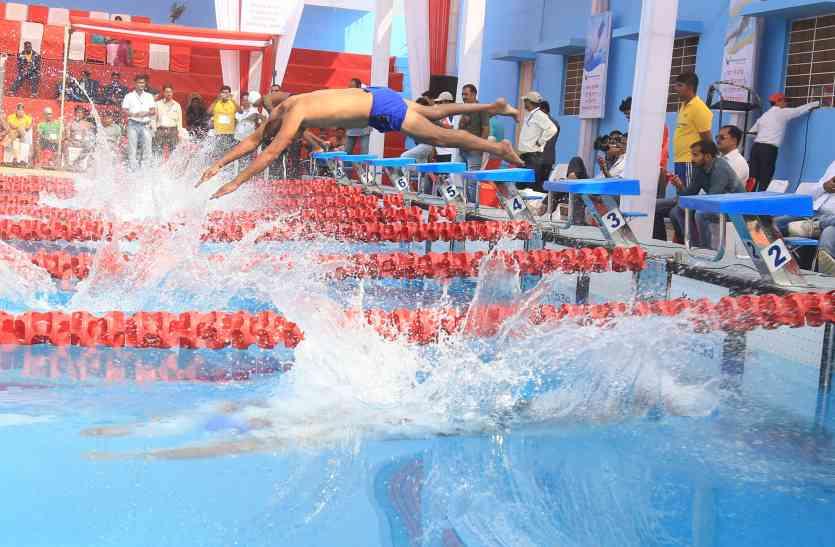 राष्ट्रीय पैरा तैराकी चैम्पियनशिप...दिव्यांगों की सबने देखी और सराही हौसलों की उड़ान
