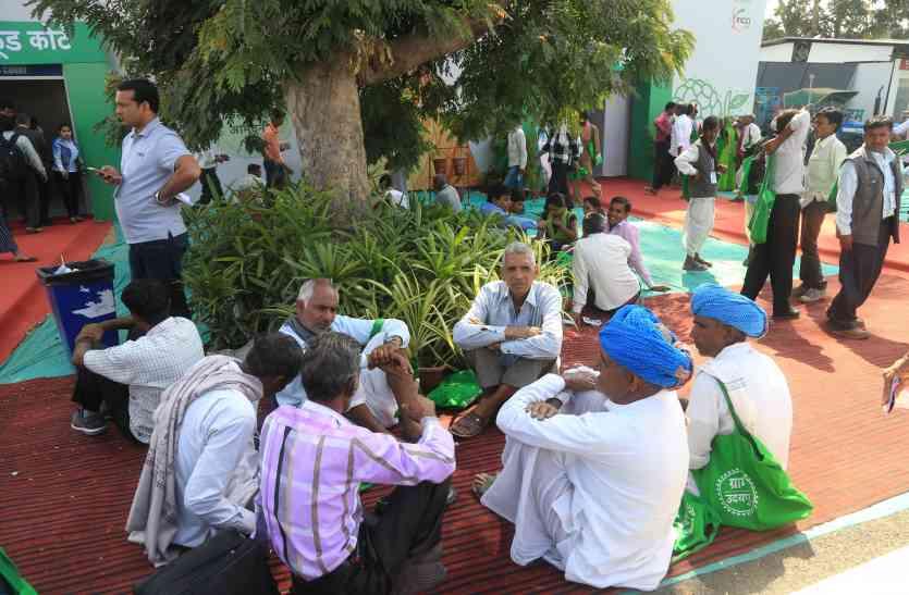 ग्लोबल राजस्थान एग्रोटेक मीट ...यहां सुनवाई नहीं होने पर रूआंसे होकर लौटे भूमिपुत्र