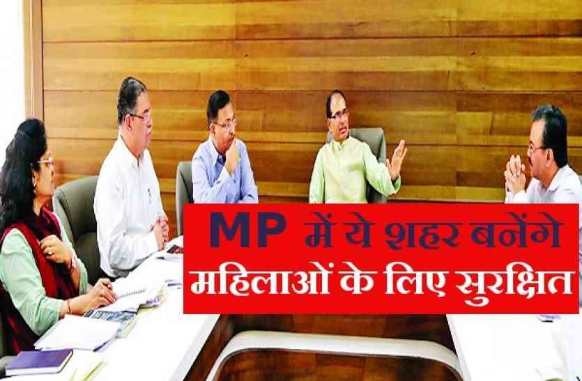 MP में महिलाओं के लिए बनेंगे 6 सेफ सिटी, जानिये कौन से हैं ये शहर ?