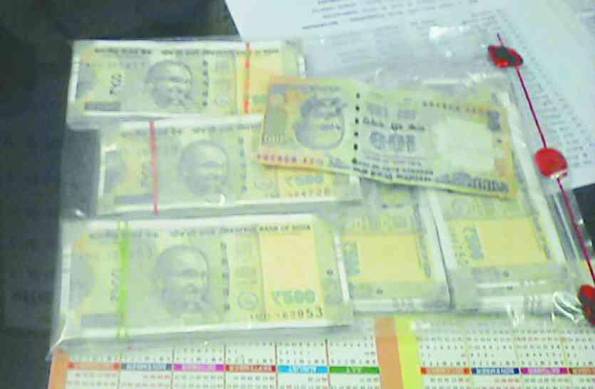 98 हजार रुपए के नकली नोट के साथ एक और गिरफ्तार