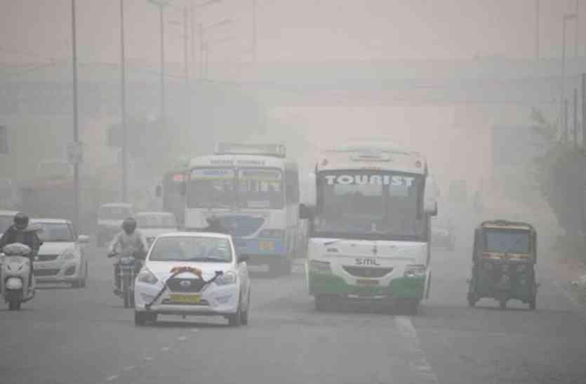 कुवैत की धूल और पाकिस्तान के धुएं से दिल्ली की हवा हुई जहरीली