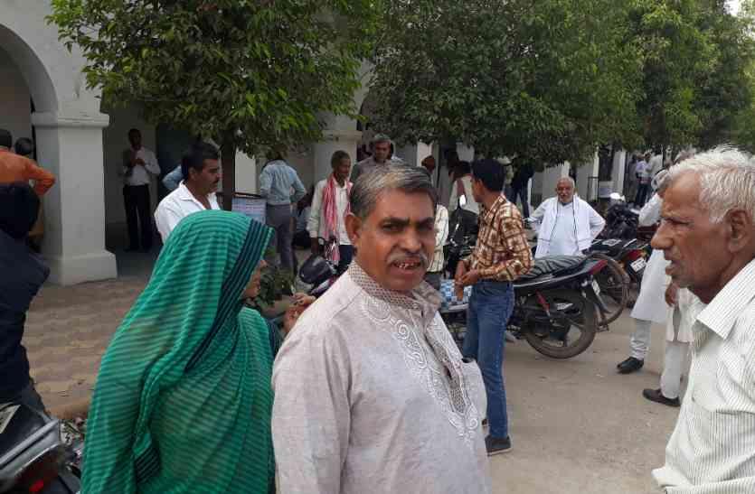 मुंबई से पेशी पर आए दंपति पक्षकार को धमकाया, जानिए क्यों
