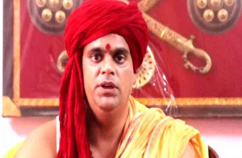 swami chakrapani says i will make toilets on dawood ibrahim