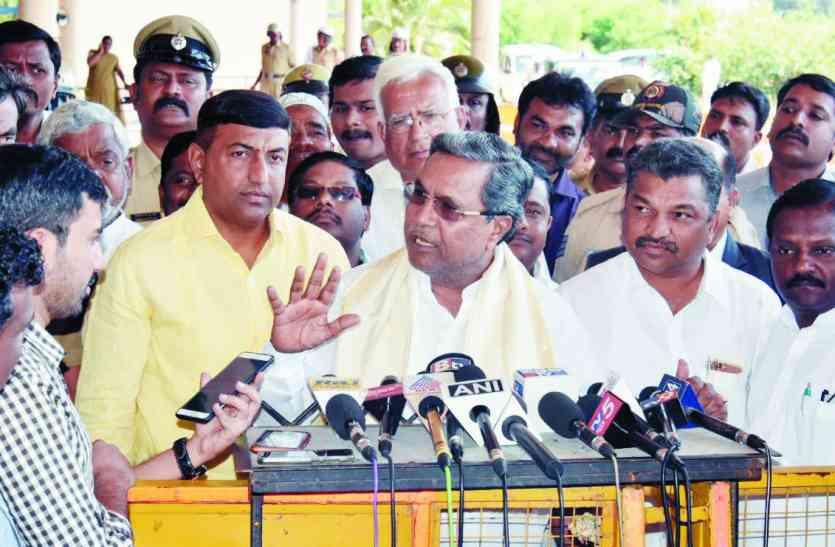 भाजपा डीके शिवकुमार को नहीं तोड़ सकती: सिद्धरामय्या