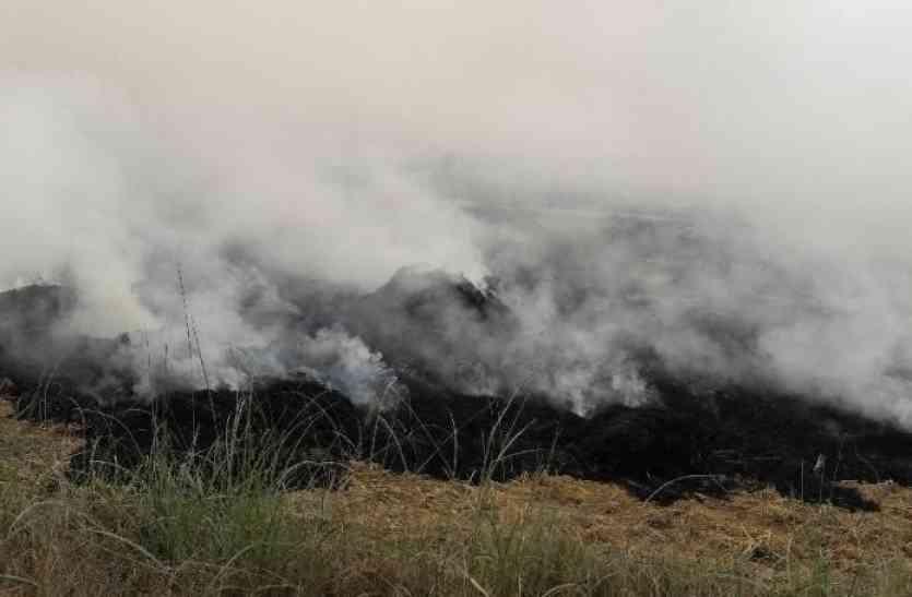 अब सिटी ब्यूटीफुल चंडीगढ़ में घुसा पराली का धुआं