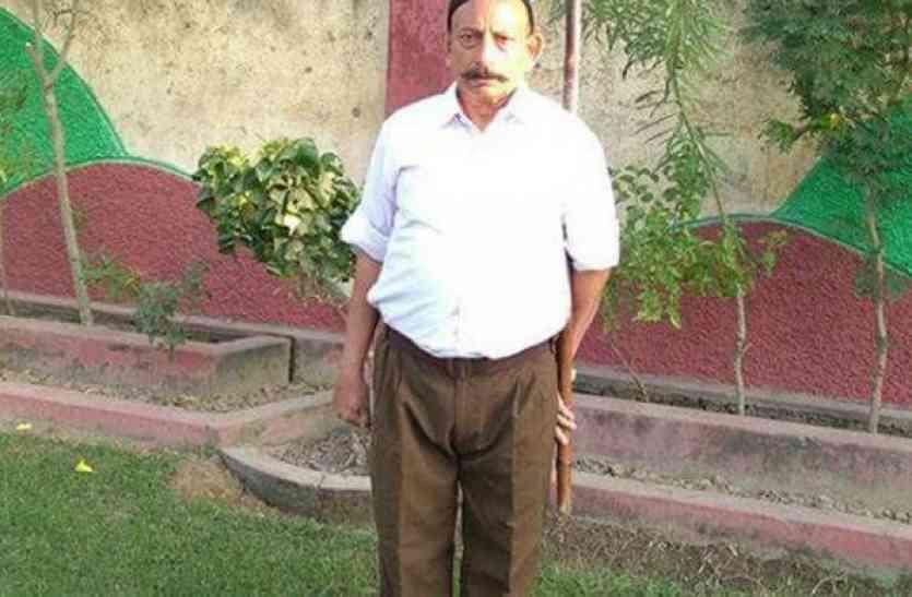 आरएसएस नेता गगनेजा की हत्या में पूर्व आतंकियों का हाथ:डीजीपी