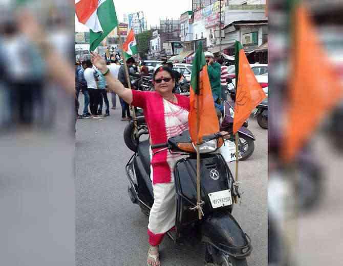BJP mayor candidate Pramila Pandey