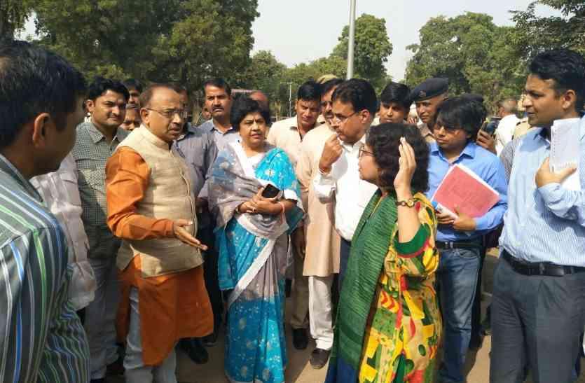 अव्यवस्थाएं देख केन्द्रीय मंत्री विजय गोयल ने जताई नाराजगी