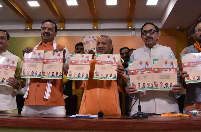 भाजपा ने जारी किया निकाय चुनाव के लिए घोषणा पत्र, इन वादों के सहारे जीतना चाहती है चुनाव