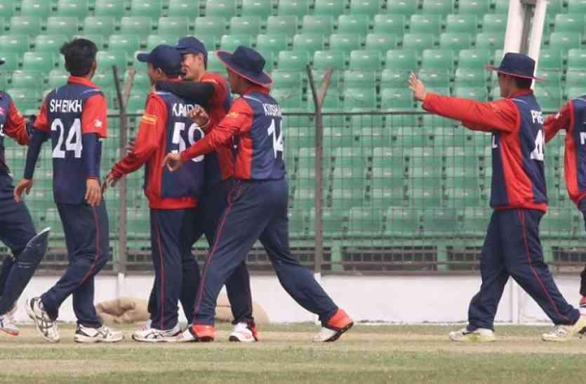 अंडर 19 क्रिकेट एशिया कप में बड़ा उलटफेर, नेपाल ने भारत को दी करारी मात