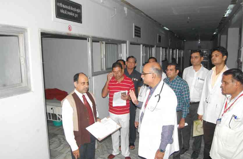 व्यवस्थाएं जांचने एमसीआई का दल पहुंचा पाली, अगले शिक्षा सत्र में मेडिकल स्टूडेंट के प्रथम बैच में प्रवेश की जगी उम्मीद