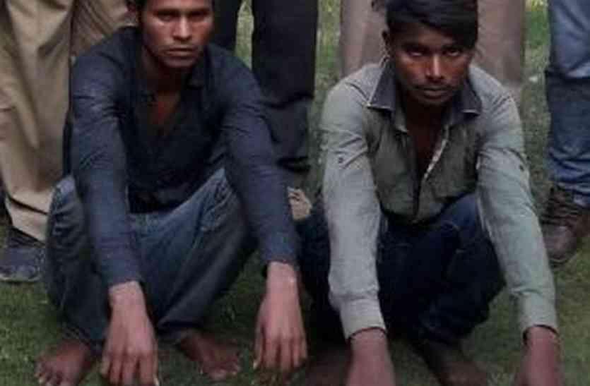 50 से अधिक नकबजनी की वारदात करने वाले कालबेलिया गिरोह के दो बदमाश चढ़े हत्थे
