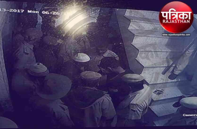 बांसवाड़ा : साजिशकर्ता सिराज के ममेरे भाई के घर तडक़े पुलिस की घेराबंदी और तलाशी
