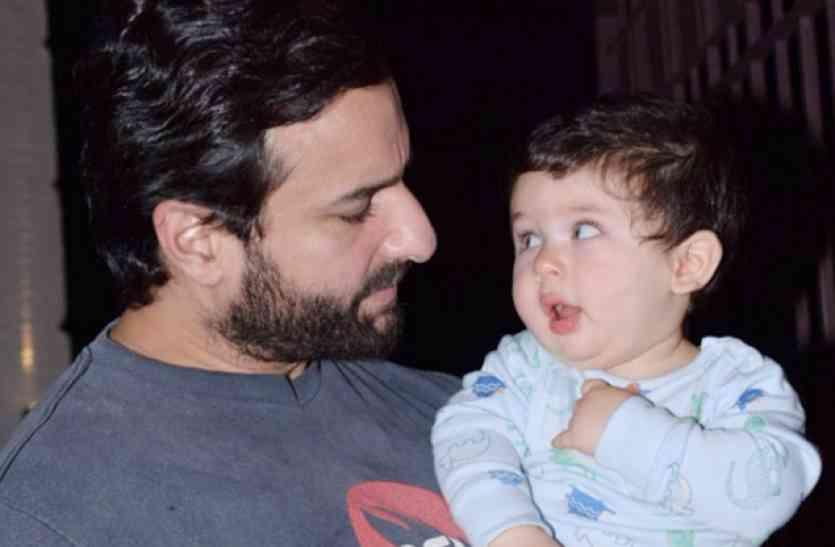चिल्ड्रेन्स डे : तैमूर अली खान को पापा सैफ ने तोहफे दी 1.30 करोड़ की कार