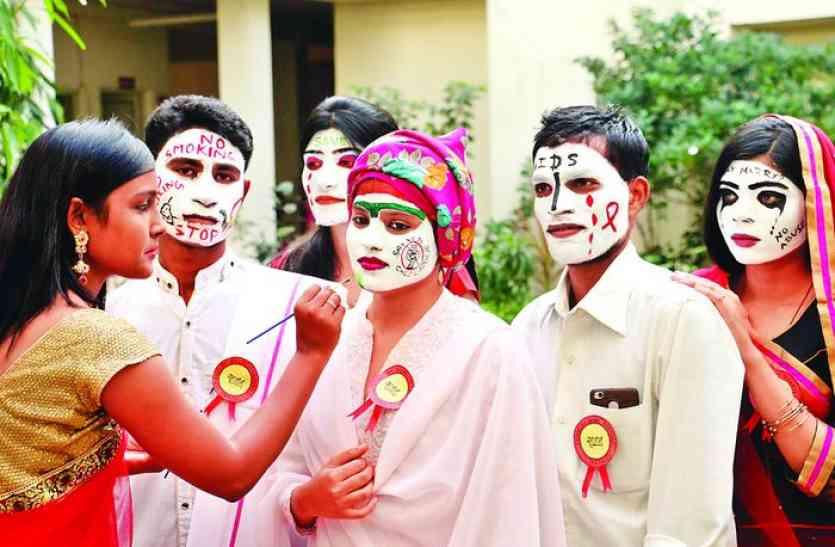 childrens day और girl child education day पर इंदौर में हुए रोमांचक कार्यक्रम