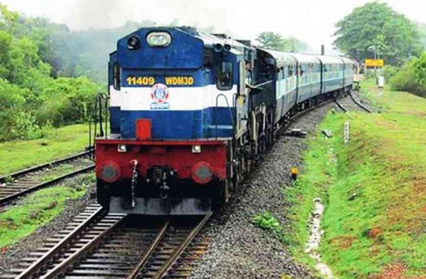 जयपुर-दिल्ली सरायरोहिल्ला ट्रेन का संचालन बंद होने से यात्री परेशानी