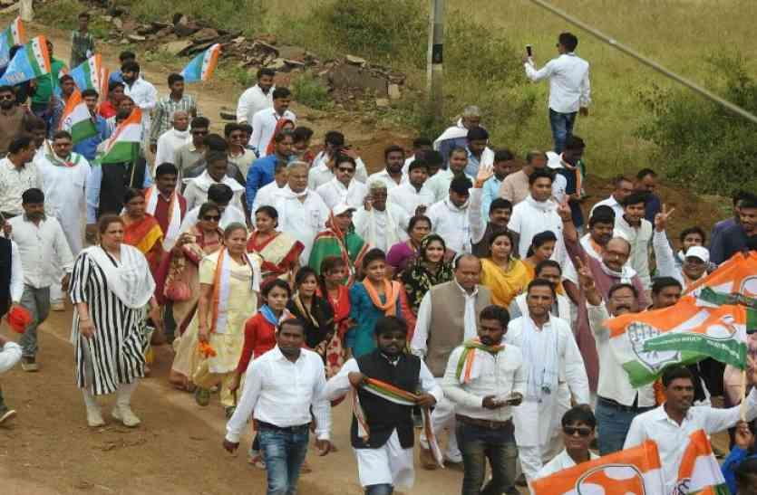 Breaking : पदयात्रा की शुरूआत करते हुए भूपेश ने कहा, बिना विजन वाली भाजपा ने मुद्दे भी कांग्रेस से चुराए