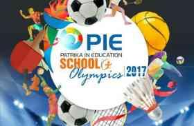 PIE SCHOOL OLYMPICS: कल तक करवा सकते हैं पंजीयन
