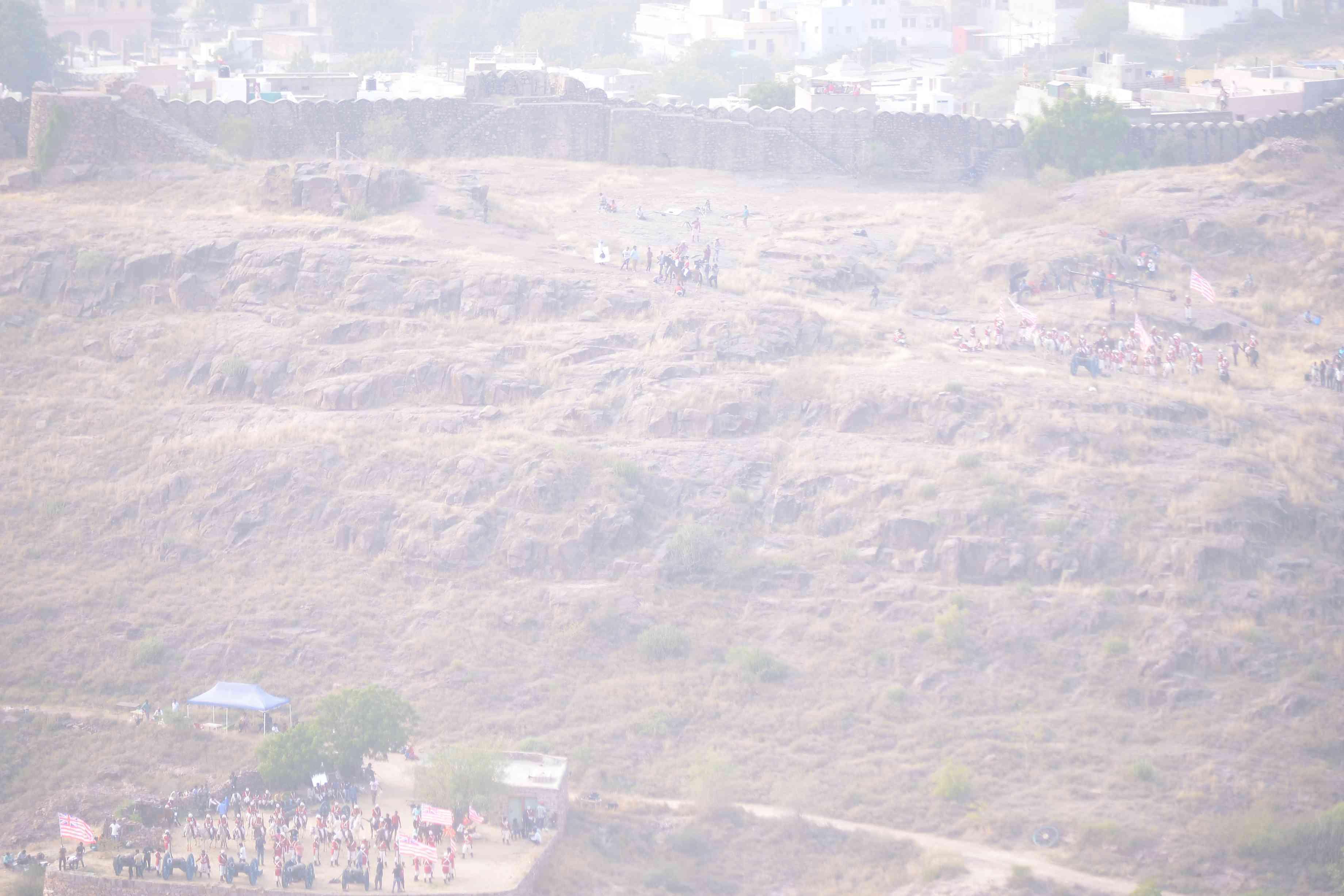 manikarnika the queen of jhansi shooting in Jodhpur