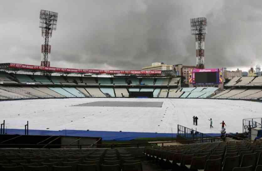 बारिश के कारण भारतीय टीम के अभ्यास सत्र में खलल, मैच भी हो सकता है प्रभावित