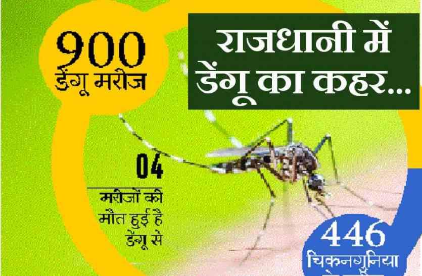 राजधानी में डेंगू: दस साल में सबसे ज्यादा खतरनाक हालात, वार्डों में नहीं बची जगह