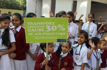 वायु प्रदूषण से छुटकारे की राह दिखाने बनारस से निकली स्वच्छ ऊर्जा यात्रा