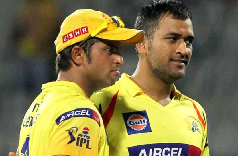 भारतीय टीम के बाद क्या अब रैना चेन्नई सुपरकिंग्स से भी बाहर हो जाएंगे