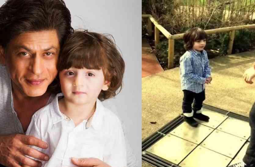 जब अबराम ने पापा शाहरुख संग किया DISCO DANCE, देखें वीडियो...