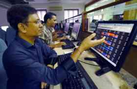 शेयर बाजार में गिरावट, 100 अंक टूटा सेंसेक्स, निफ्टी भी 10,157 पर