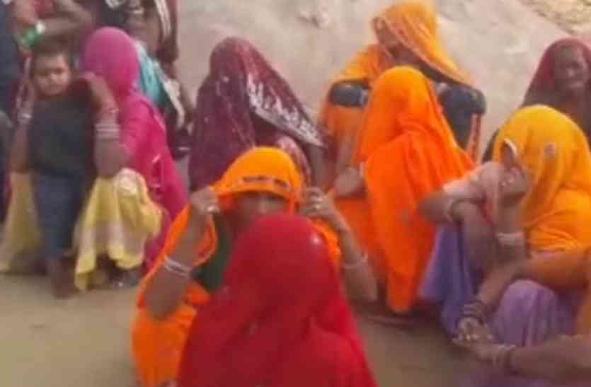 पहले पत्नी, फिर पोती अब पुत्रवधु छोड़ बसी, शव पहुंचते ही ढाणी में मची चीख-पुकार