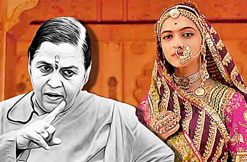 पद्मावती पर उमा भारती का बयान, हीरो-हीरोइन नहीं विवाद के लिए राइटर और डॉयरेक्टर जिम्मेदार