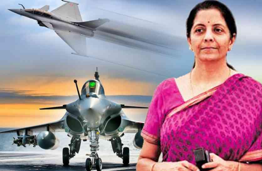 रक्षा मंत्री ने कांग्रेस के आरोपों को बताया शर्मनाक, कहा- UPA सरकार ने लटकाया राफेल सौदा